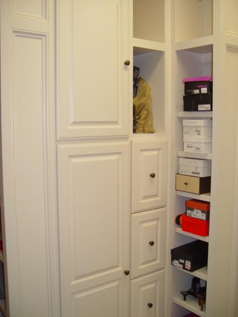 custom closet cabinet systems