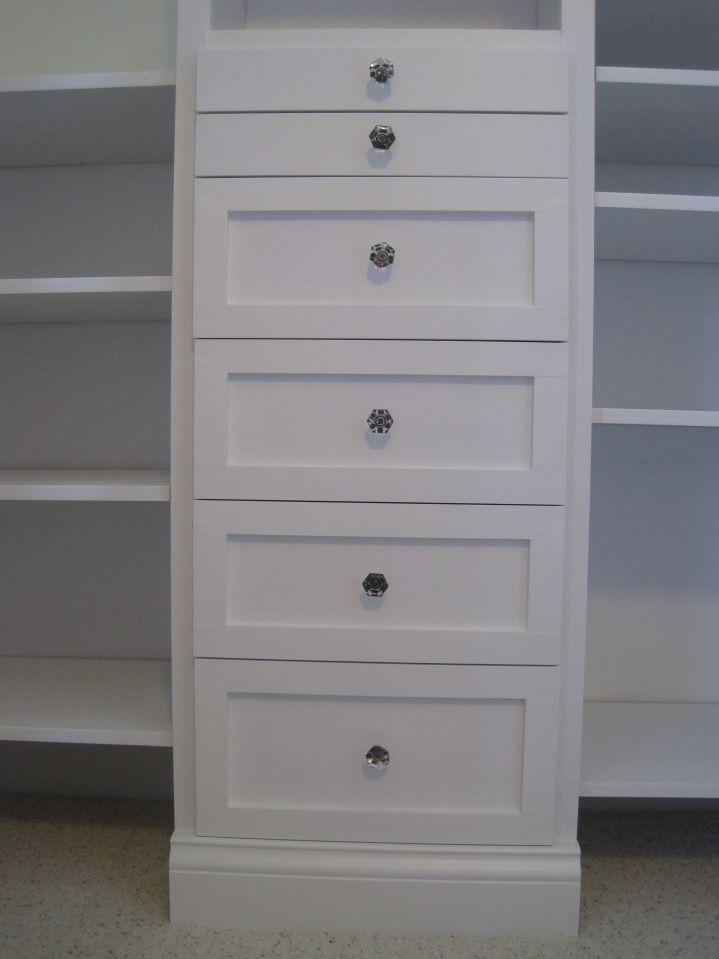drawers for closet organizer