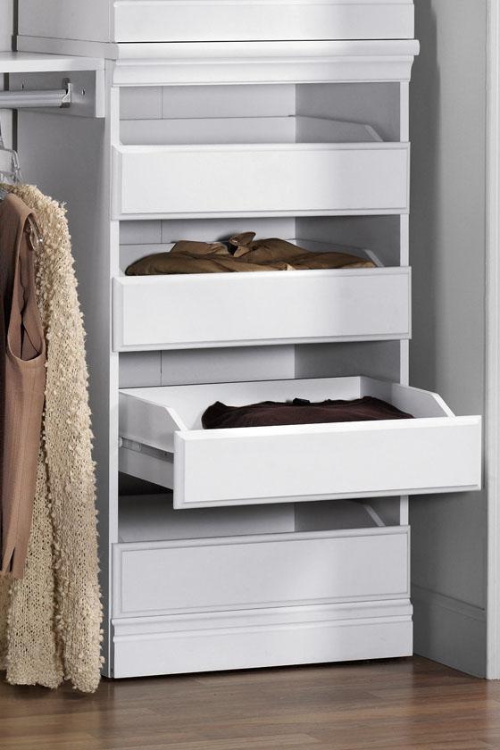 drawers for closet storage