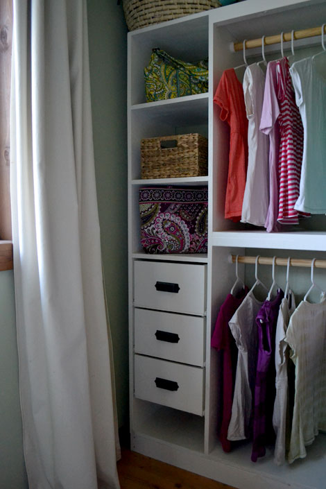drawers for closet systems