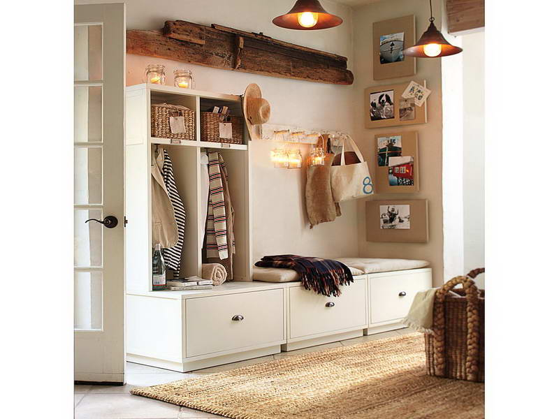 entry bench storage ideas