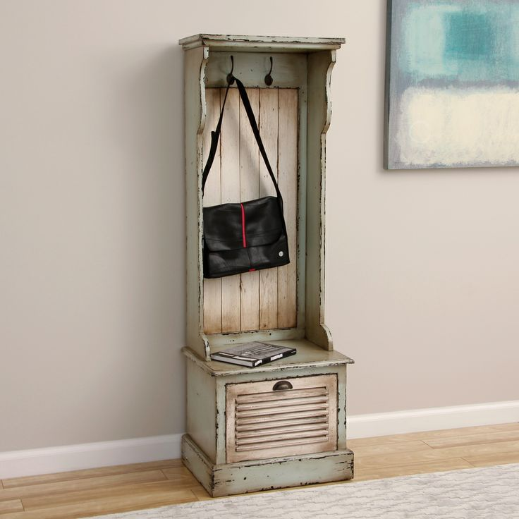 entry hall bench with storage