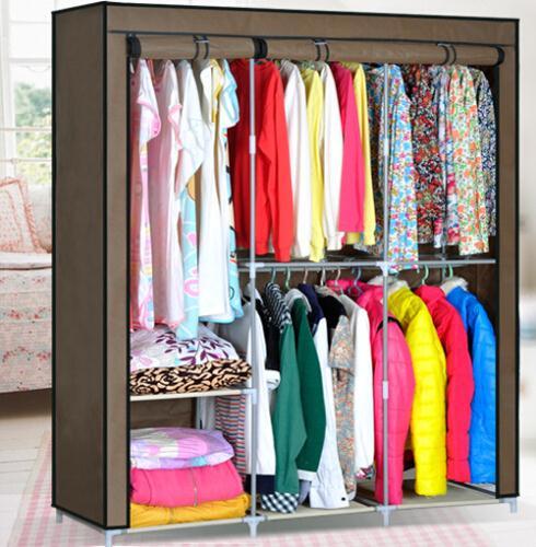 essential home portable clothes closet
