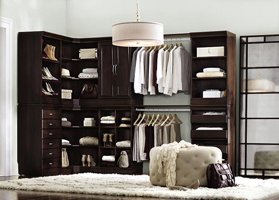 free standing modular closet systems