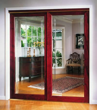how to install mirror sliding closet doors