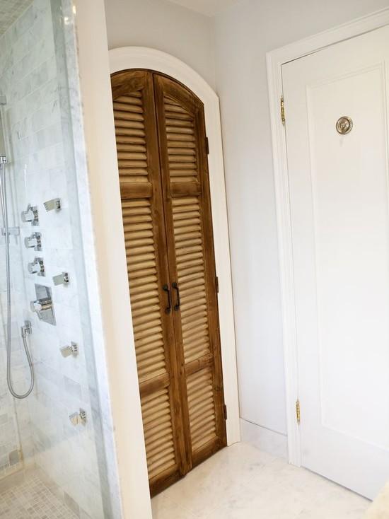 ideas for linen closet doors