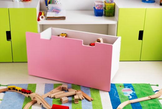 ikea stuva storage bench with box
