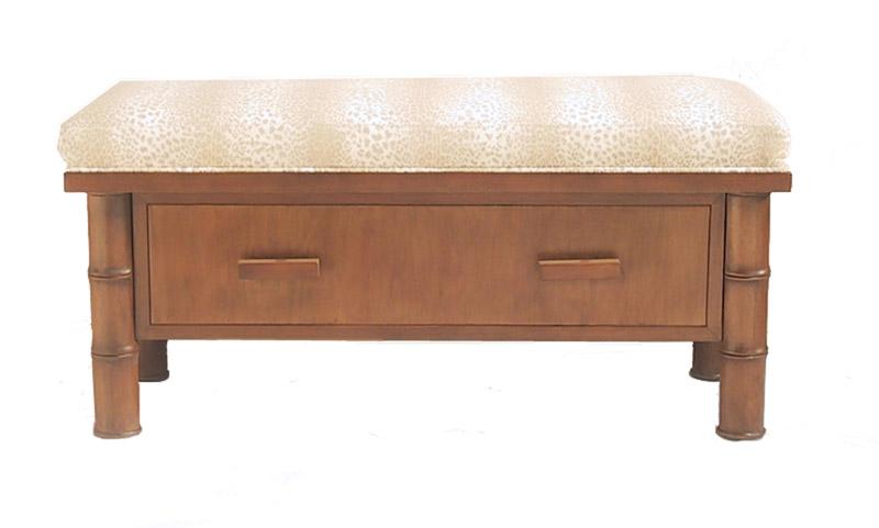 indoor wood bench seat