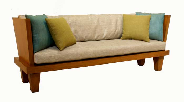 indoor wooden benches with storage