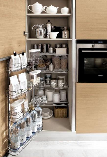 kitchen cabinet interior organizers