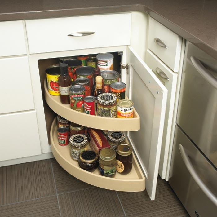 kitchen cabinet organization options