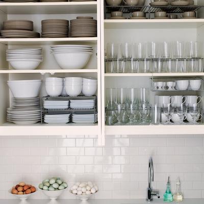 kitchen cabinet organization tips