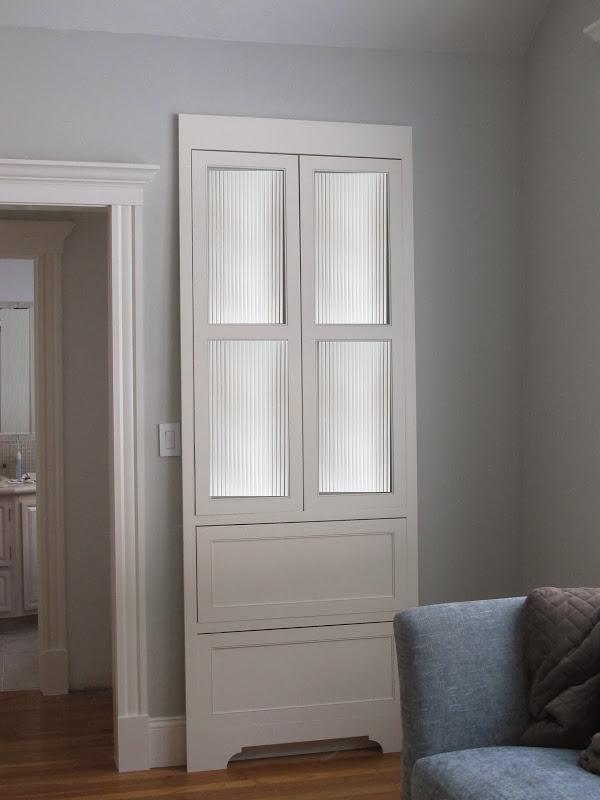 linen closet door design