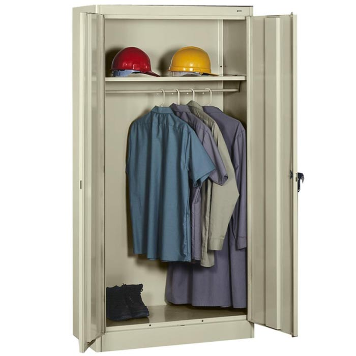 metal wardrobe cabinet storage