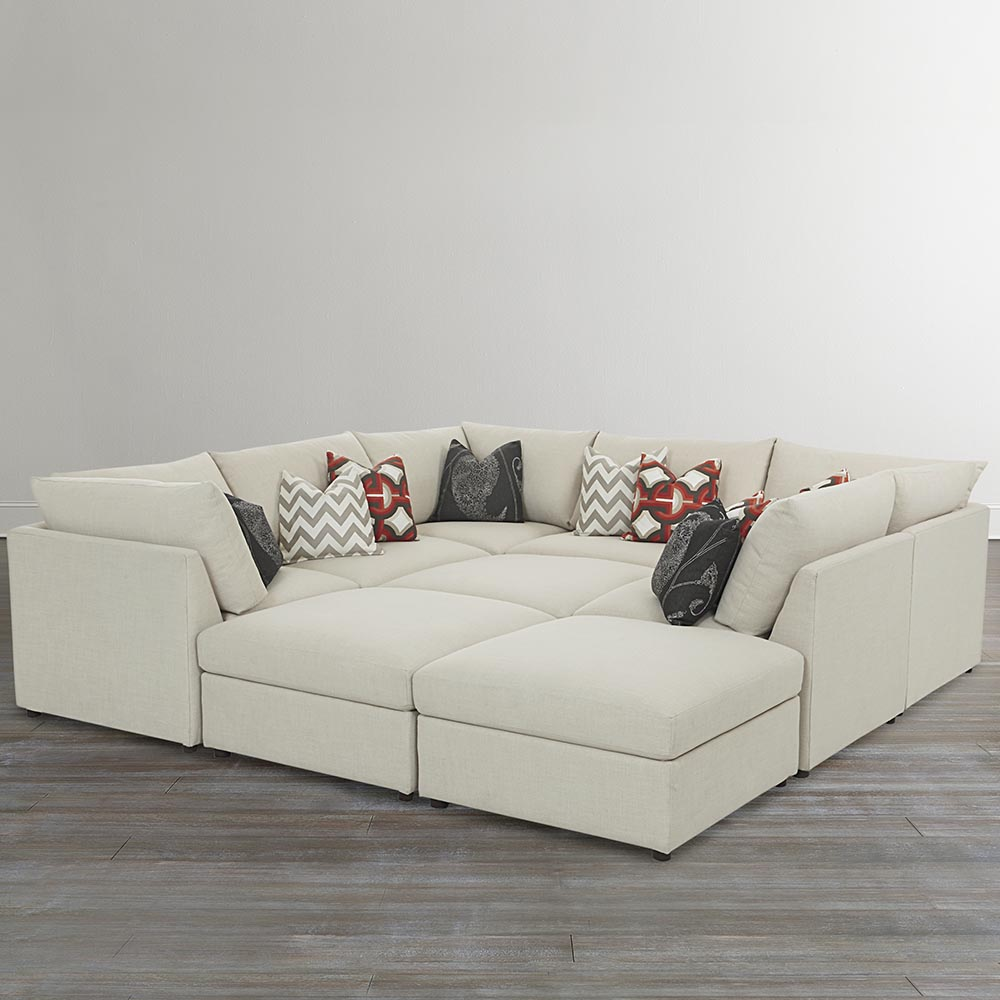 Modular Pit Sectional Sofa is the perfect solution for stylish rooms of any size.