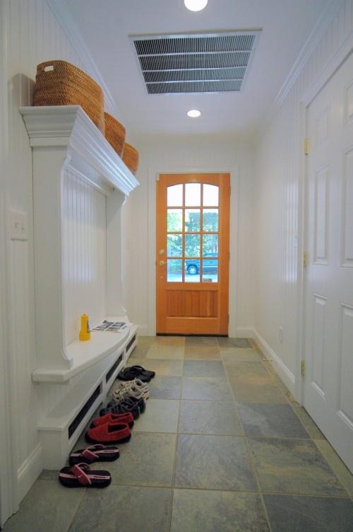 narrow benches for hallways