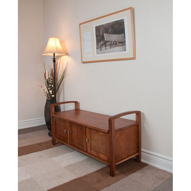 norfolk pine entryway bench