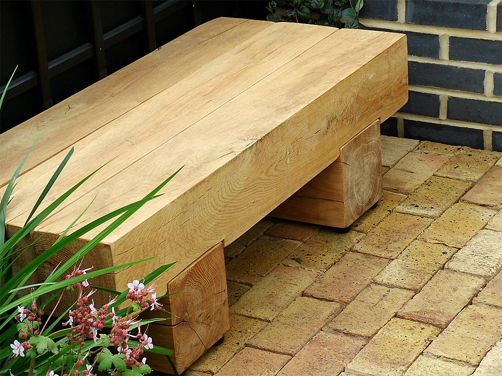 outdoor wooden bench plans to build