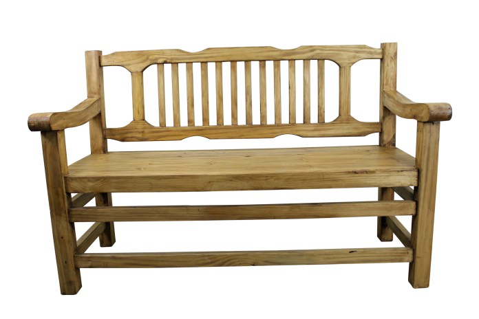 pine bench plans