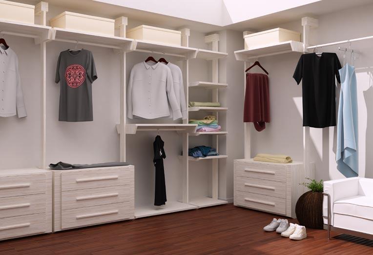 prefab closet kits