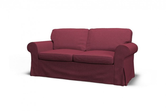 purple ektorp sofa