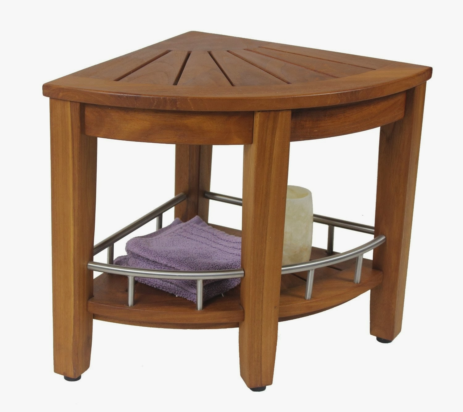 Teak bench with storage is essential for your household ...