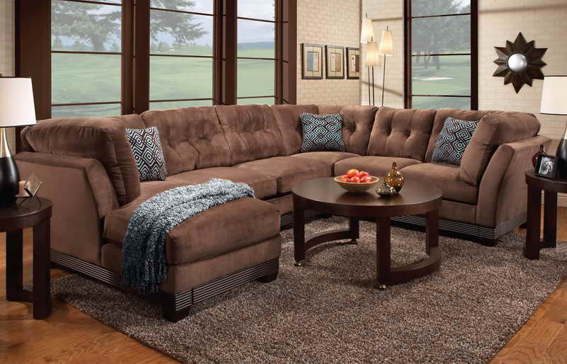 wrap around couch recliner