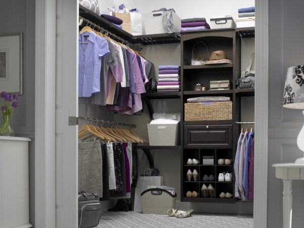 wood closet organizers at lowes