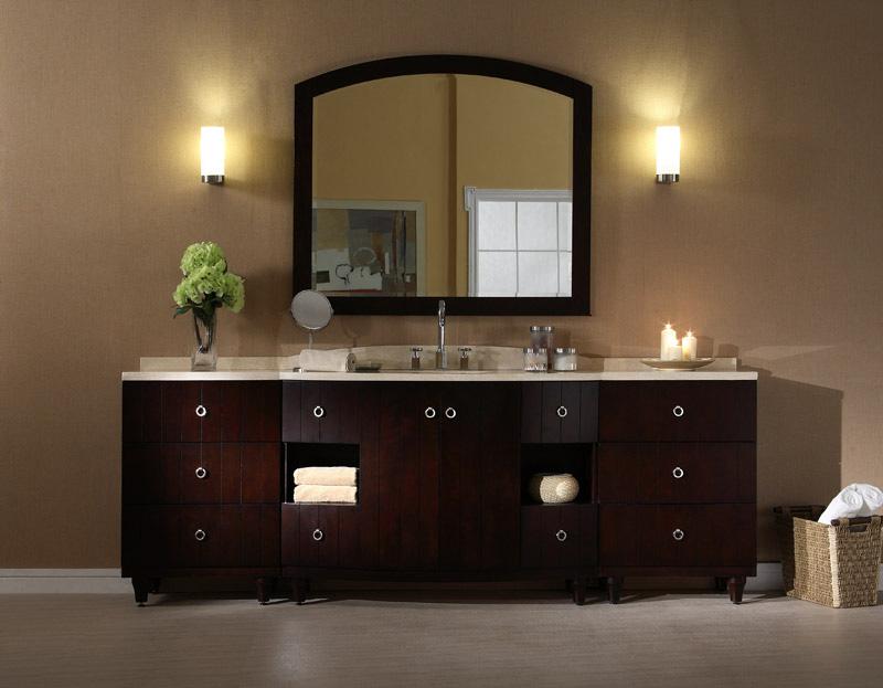 96 bathroom vanity cabinets