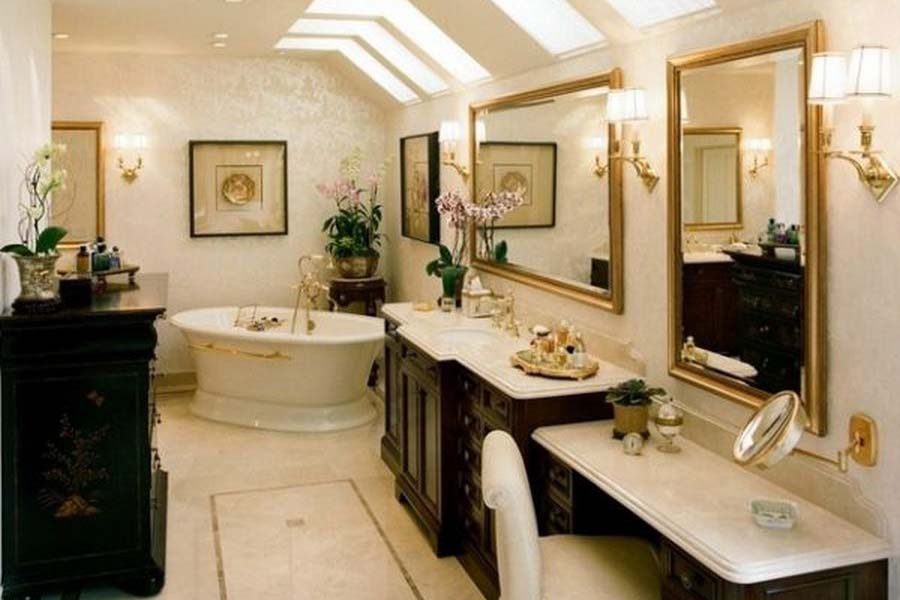 Antique bathroom vanities and sinks