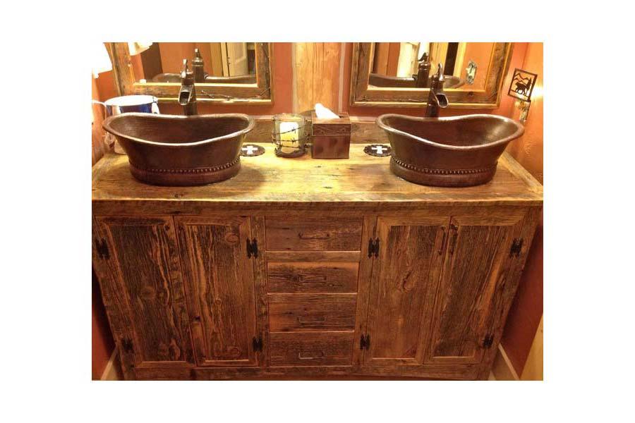 Bathroom Vanities Rustic Look