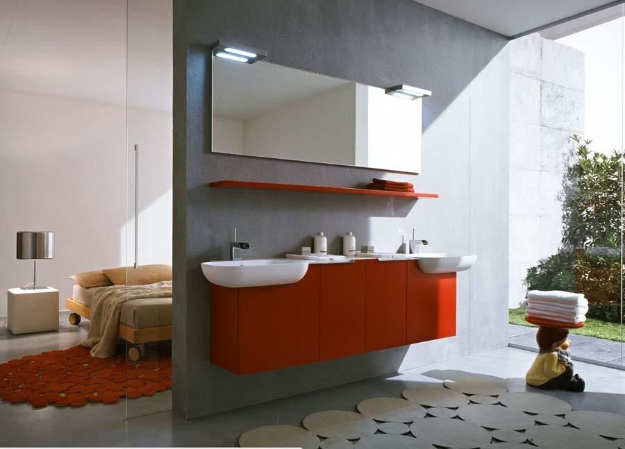 Bathroom countertop towel holder