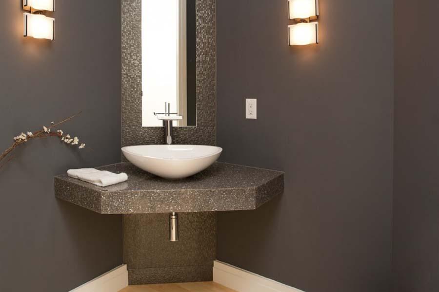 Bathroom vanities small powder room