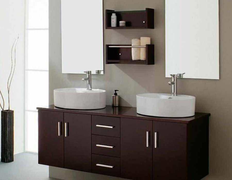 Bathroom vanity complete sets