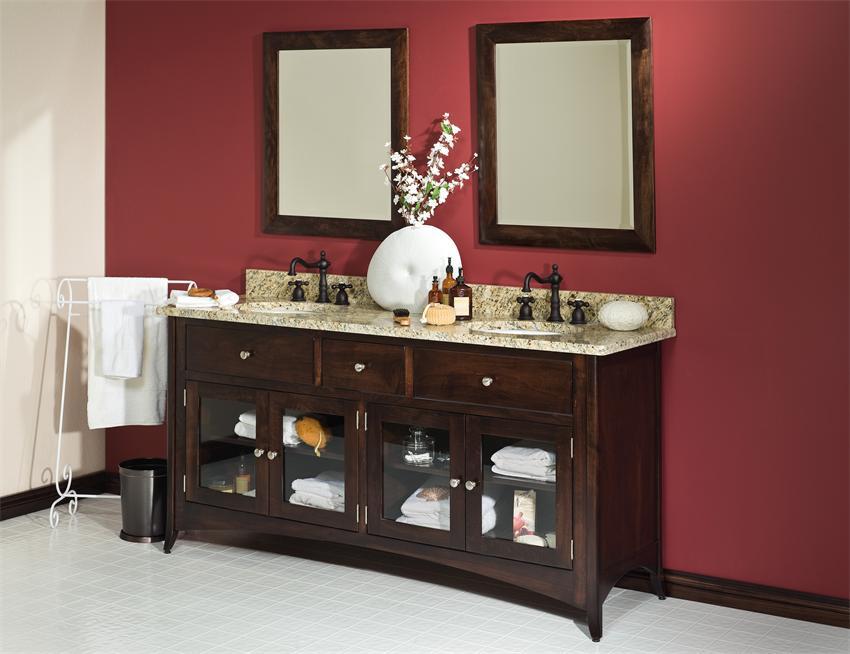 Bathroom vanity furniture pieces