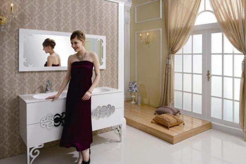 Bathroom vanity furniture style