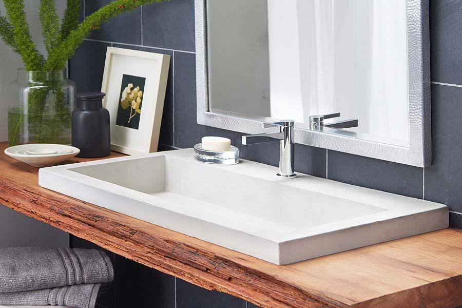 Build a floating bathroom vanity