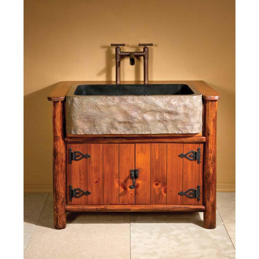 Country Bathroom Vanities Cabinets