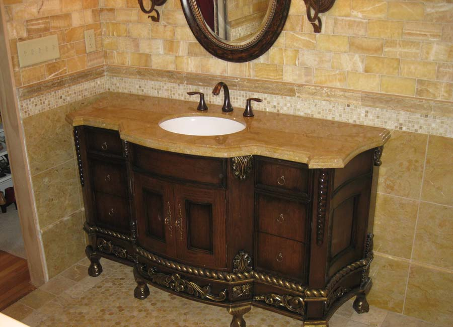 Discount granite bathroom vanity tops