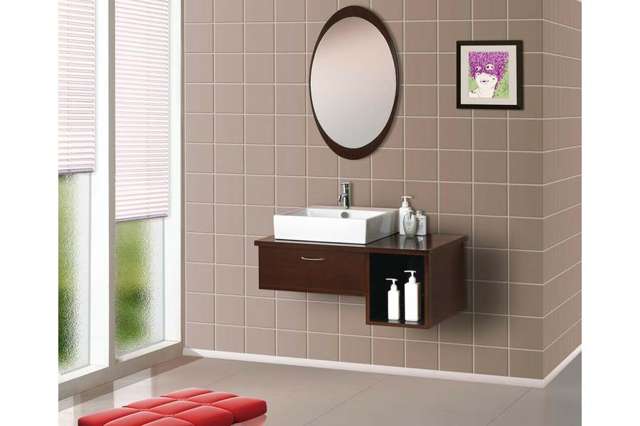 Dreamline wall mounted bathroom vanity