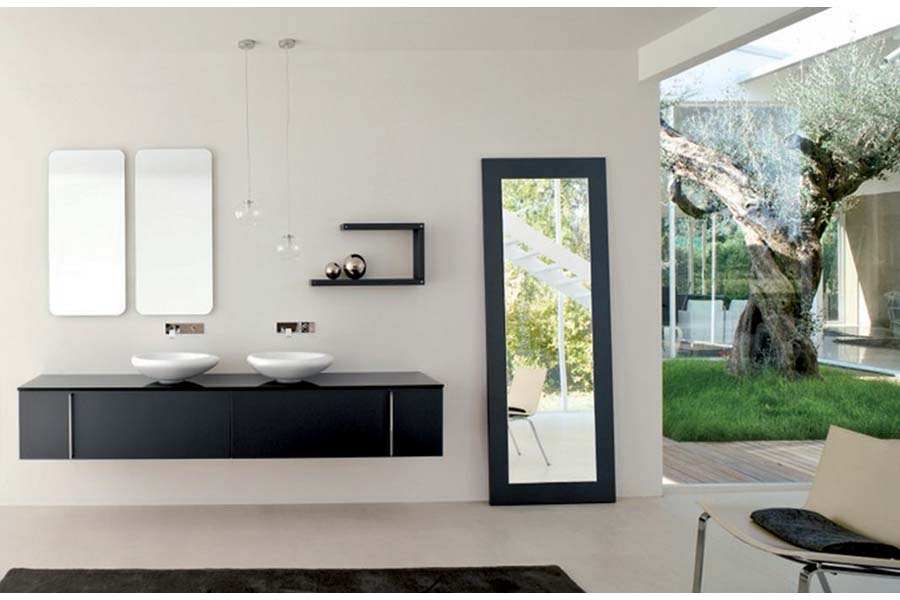 Home depot wall mounted bathroom vanity