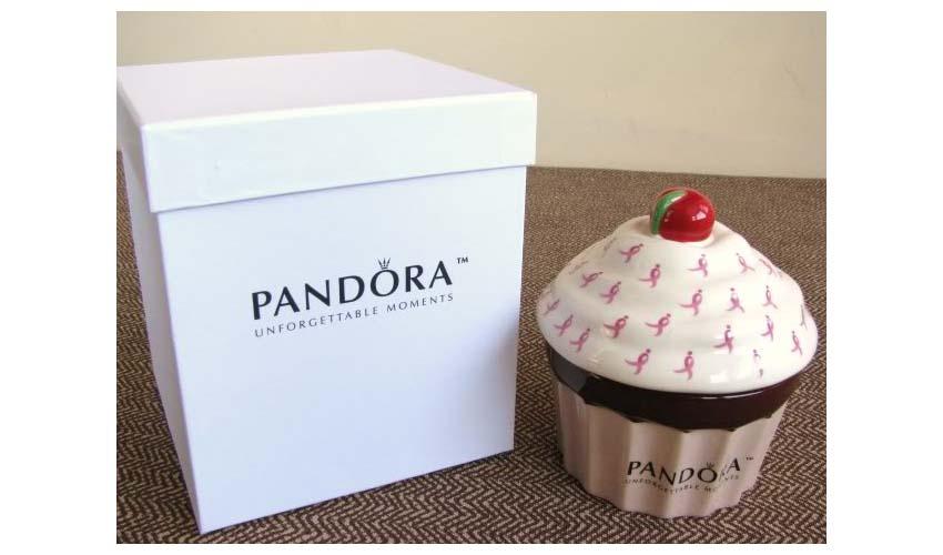 Pandora cupcake jewelry box