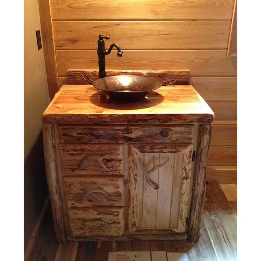 Rustic Bathroom Vanities 24 Inch