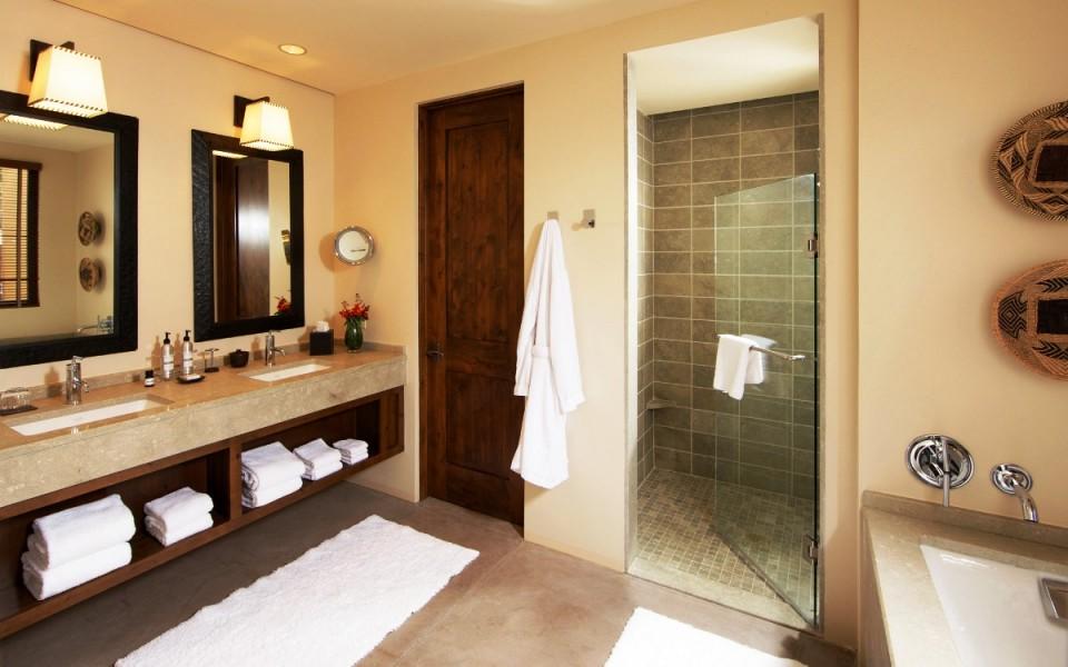 Traditional bathroom vanities double sink