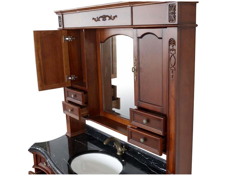 Vintage bathroom sink and vanity