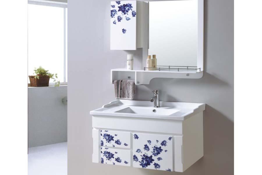 Wall mounted bathroom sinks and vanities
