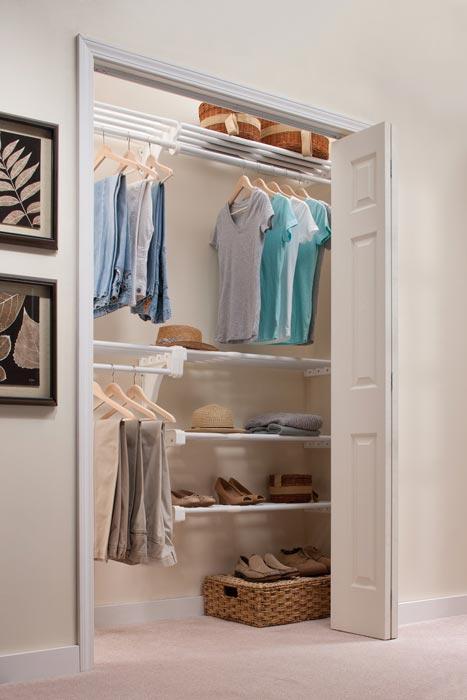 best reach in closet organizer