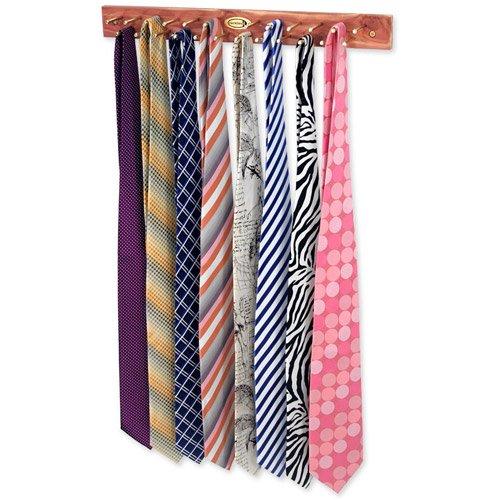 cedar tie racks for closets