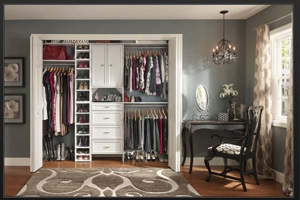 cheap closet organizers lowes