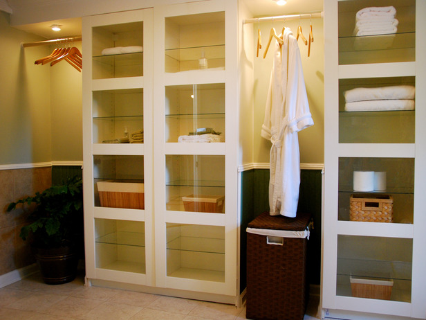 closet storage bathroom wall cabinets